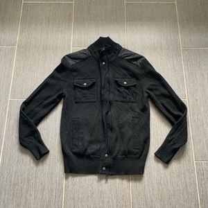 Banana Republic wool jacket coat black medium
